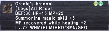 Oracle's Braconi