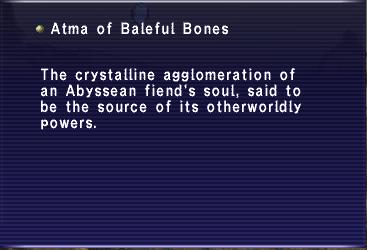 Atma of Baleful Bones