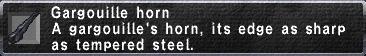 Gargouille Horn