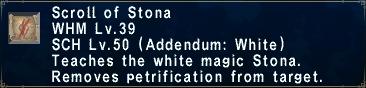 Scroll of stona