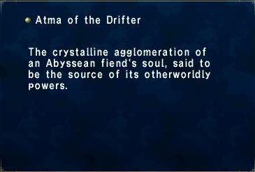 Atma of the Drifter
