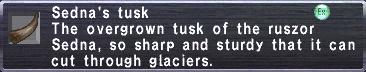 Sednas Tusk