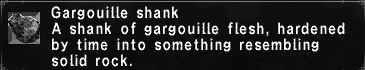 Gargouille Shank