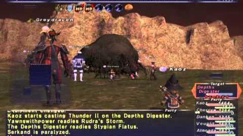 FFXI NM Saga 359 Depth Digester VNM Full Battle