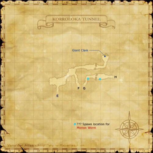 Korroloka Tunnel Map 3