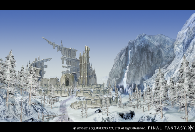 File:Ishgard Stronghold in ruins.png