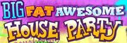 Big Fat Awesome House Party Logo