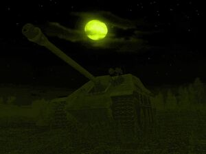 Jagdpanther with Night Vision