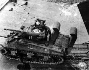 764px-M4A3 Sherman with Deep Wading Gear
