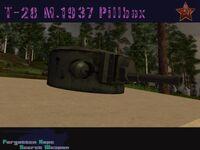 T-28 Model 1937 Pillbox