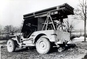 Willys MB Calliope Rocket Willy