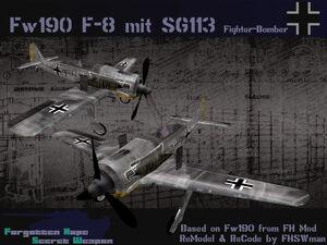 FW-190 F-8 mit SG113