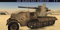 Sd.Kfz. 8 with 8.8 cm Flak 18