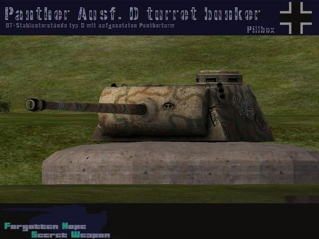 File:Panther Ausf. FG turret bunker.jpg