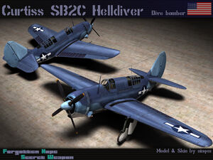 Curtiss SB2C