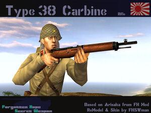 Type 38 Carbine