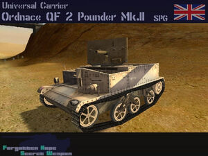 Universal Carrier with 2 Pounder