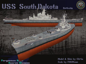 USS South Dakota