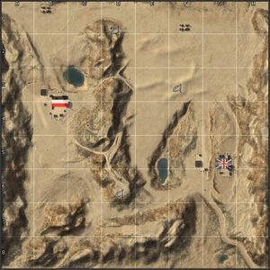 El Alamein minimap