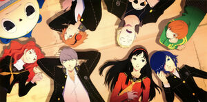 Persona 4 investigation team 2