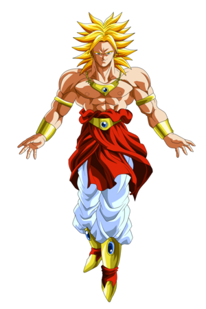 Broly Super Saiyan Form Dragon Ball