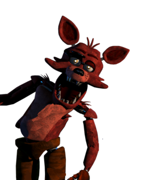 Foxy Five Nights At Freddys