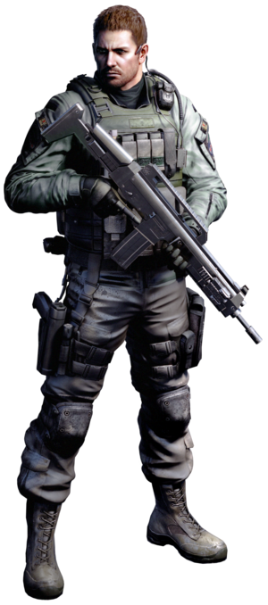 Chris Redfield Resident Evil