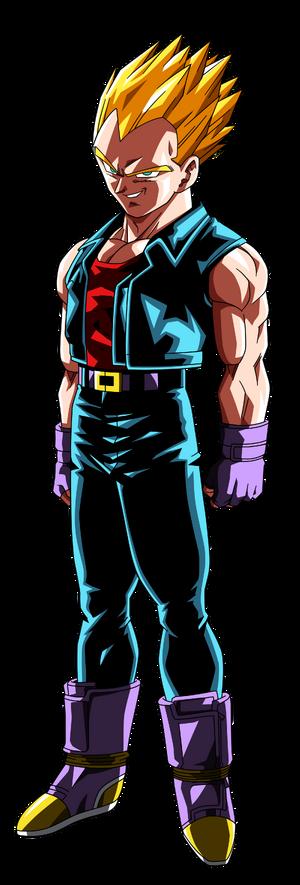 Super Saiyan Vegeta Dragon Ball GT