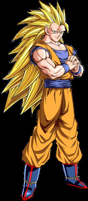 Super Saiyan 3 Goku Dragon Ball Z