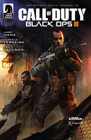 Call of Duty Black ops III Issue 1 Cover