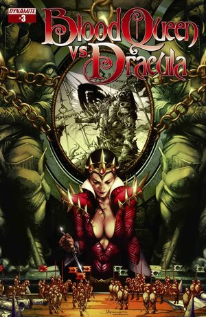 Blood Queen Vs Dracula Issue 3 Cover