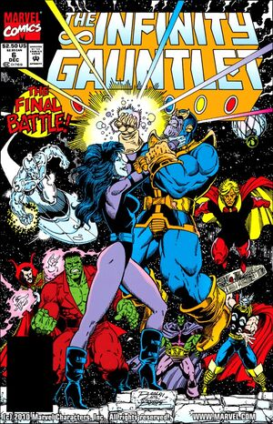 The Infinity Gauntlet Issue 6 Cover