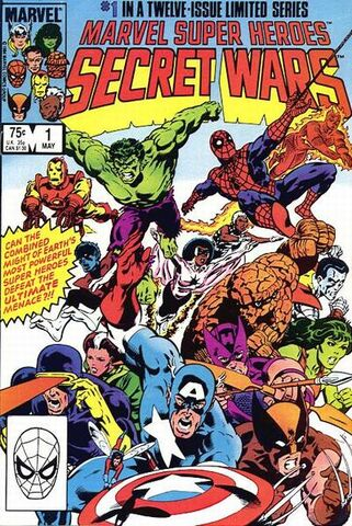 File:Secret Wars Cover Issue 1.jpg