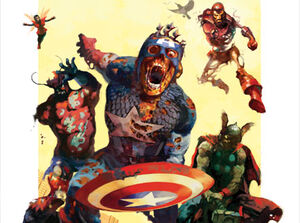Marvel Zombies Universe Earth-2149 Marvel Comics
