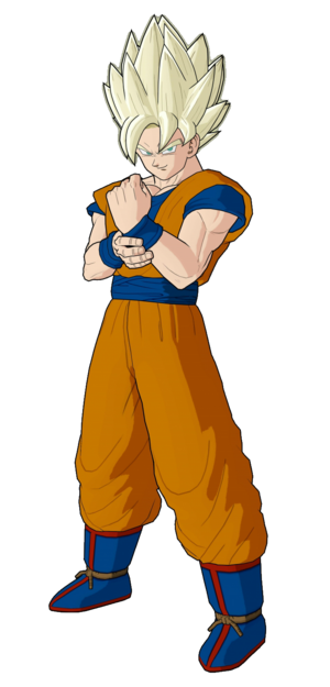 Super Saiyan Goku Dragon Ball Z Video Games