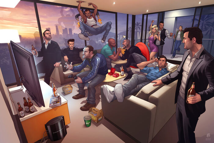 Grand theft auto legends 2012 by patrickbrown-d53et9c