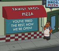 Family bros pizza
