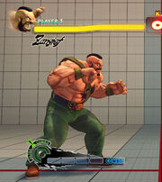 SF4 Zangief Haggar