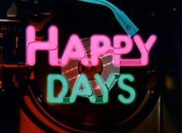 A Happy Days logo