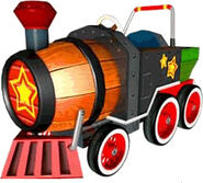 SSBB Sticker Barrel Train