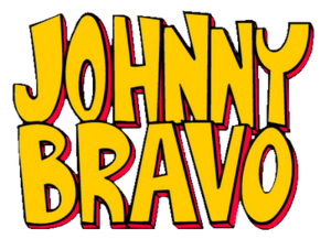 A johnny bravo logo