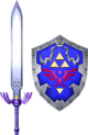 SC2 weapon Link MasterSword&HylianShield
