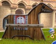 A&OXXL2 Pac-Man horse