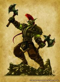 Forest troll2