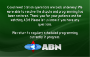 ABN station dispute resolved