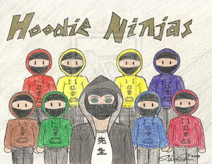 Hoodie Ninjas by HuoXingC