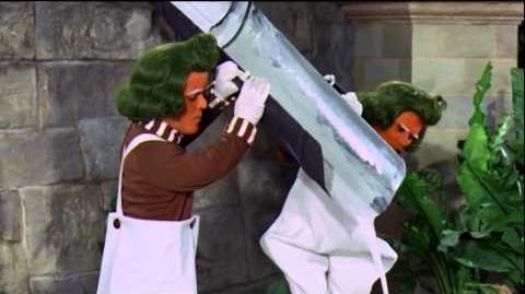 """Willy Wonka (HD) """"Oompa Loompa Augustus Gloop Song"""""""
