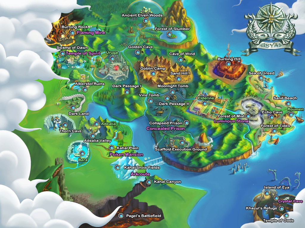 Isya World Map