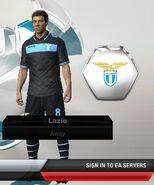Lazio away