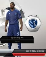 Sporting kc away